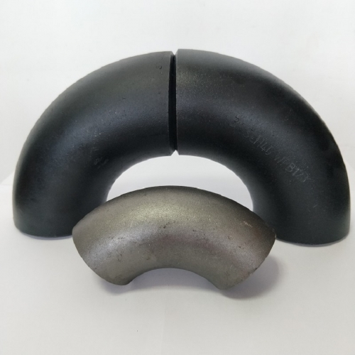 A234 Wpb Sch80 90 Degree Long Radius Butt Welding Carbon Pipe Fitting Elbow