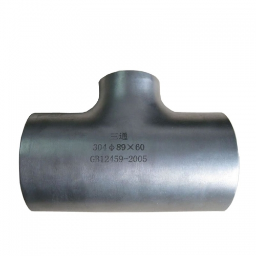 Sch40 4 Inch Stainless Steel Pipe Fitting Tee