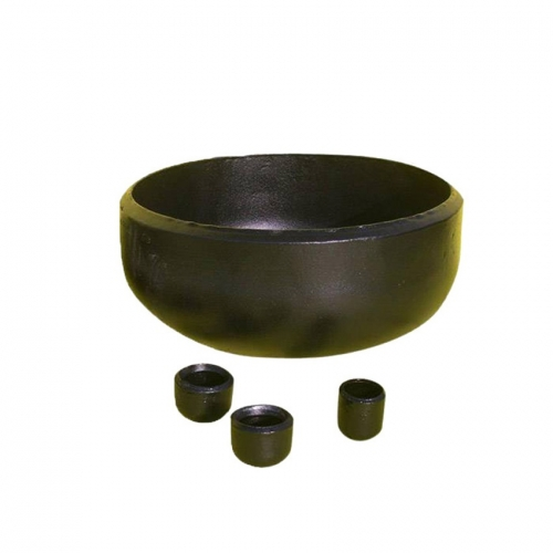 Black Painting 24 Inch 600MM Carbon Steel Buttweld Caps